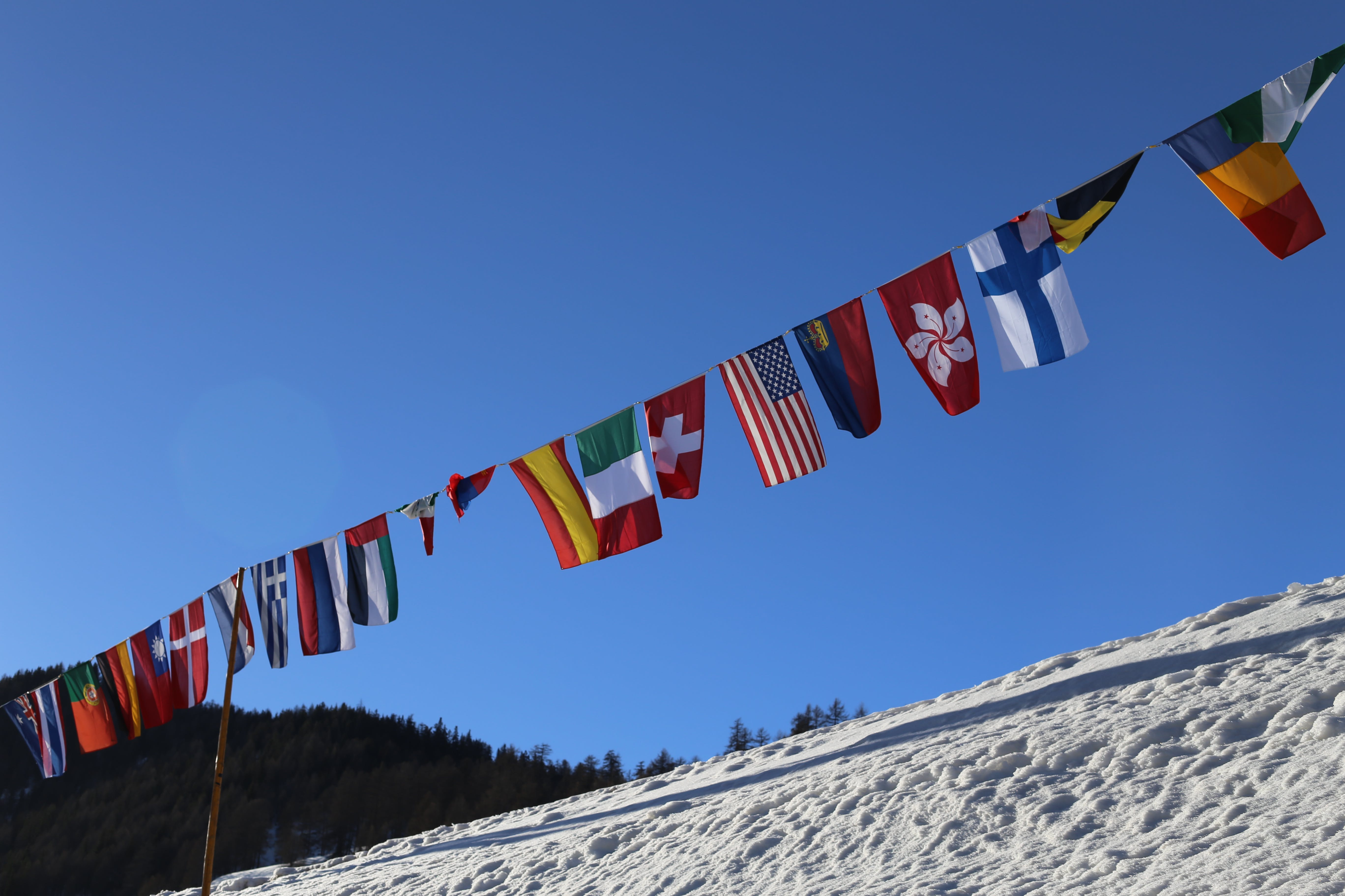 Free stock photo of america, Finland, flags, italy