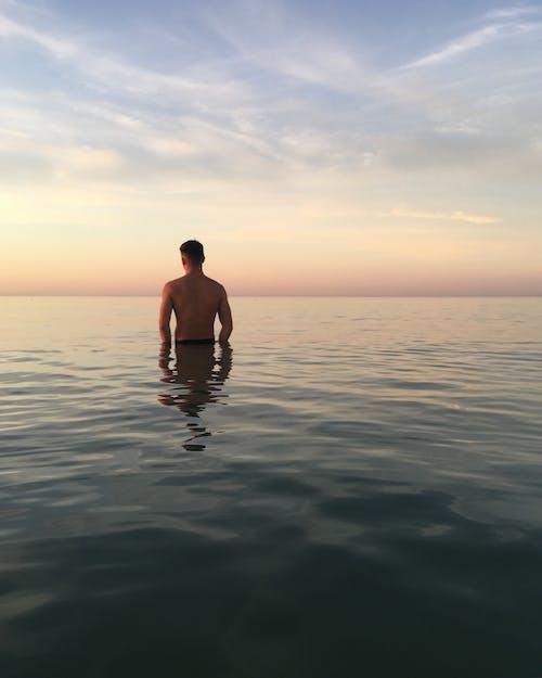 Gratis lagerfoto af aften, dagslys, fritid, hav