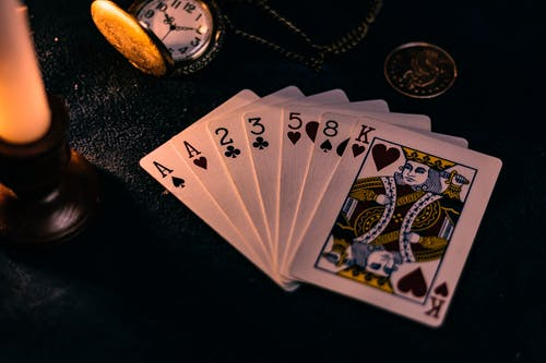 Close-Up Photo of Playing Cards