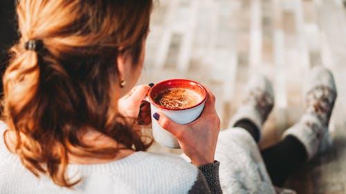 Základová fotografie zdarma na téma hrnek, jídlo, káva, kávový nápoj
