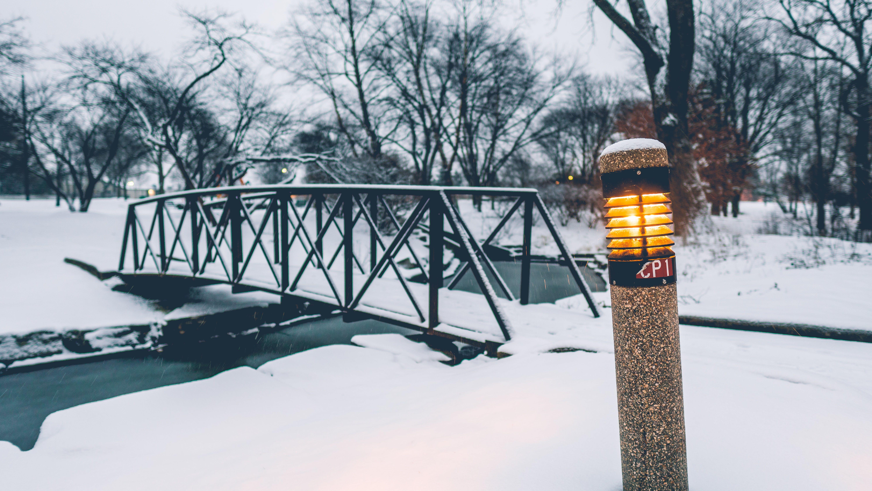Free stock photo of bridge, cold, dark, light