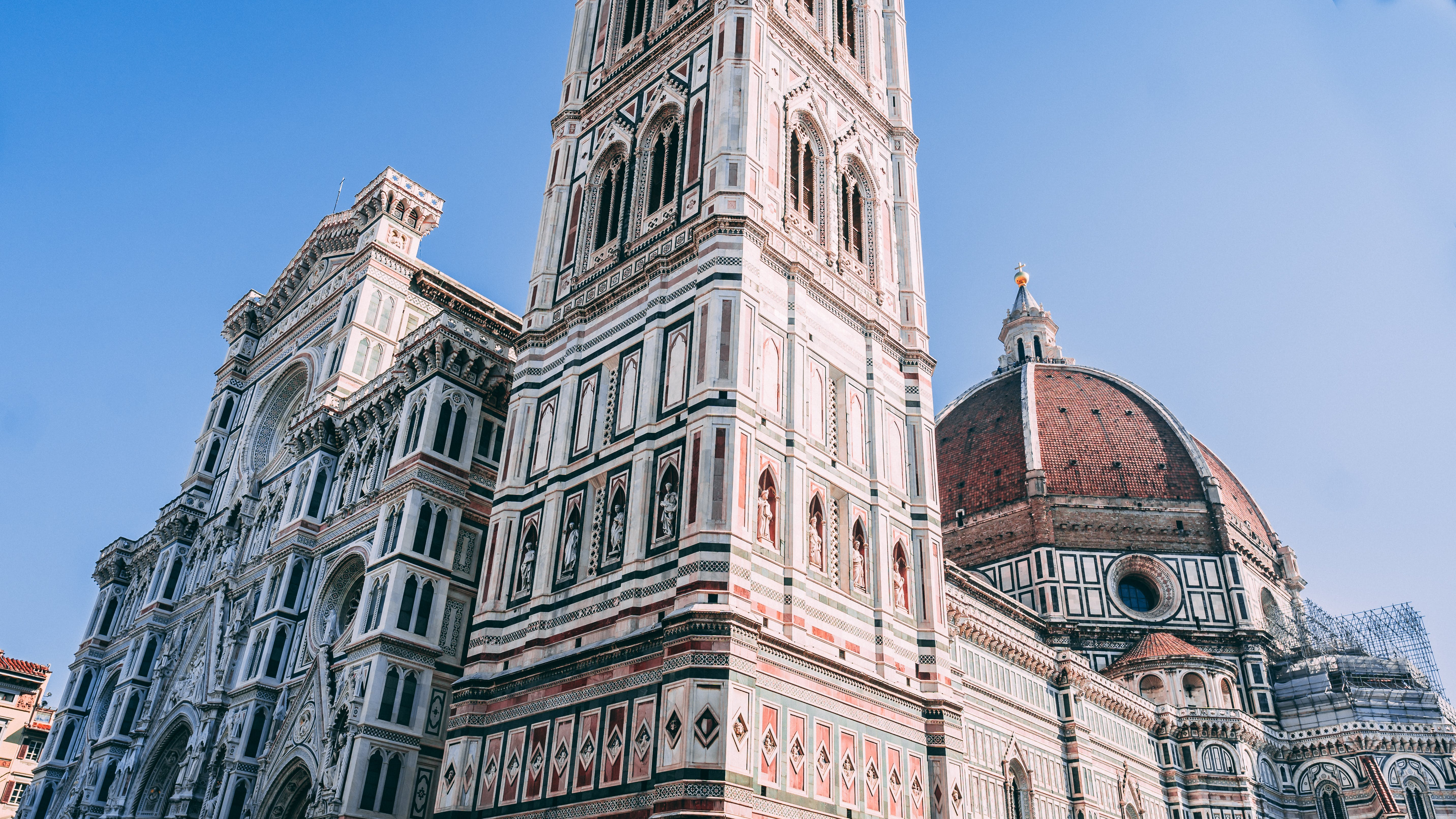 Low Angle Photo of The Florence Cathedral