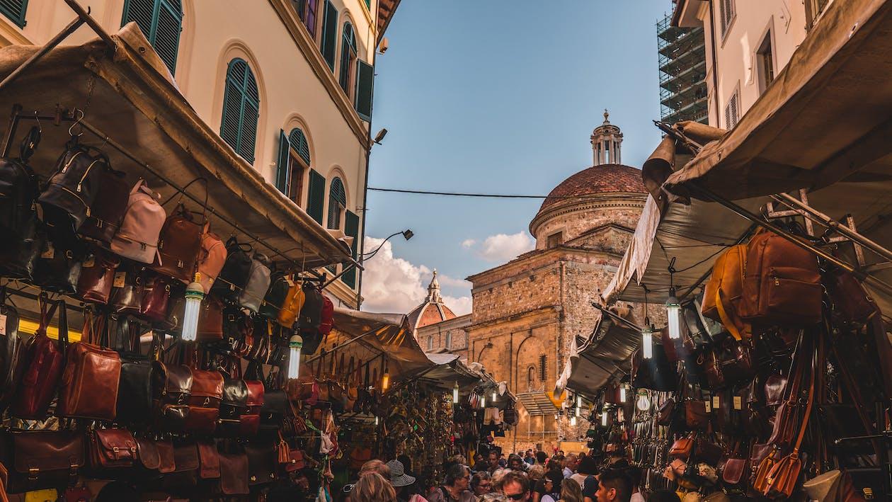 αγορά, Άνθρωποι, αρχιτεκτονική