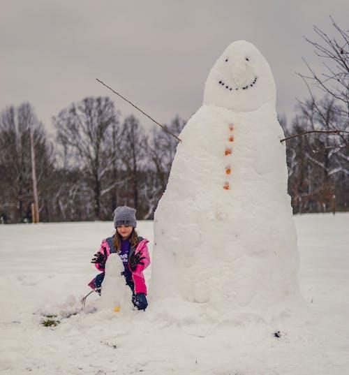 Ảnh lưu trữ miễn phí về băng giá, có tuyết rơi, con gái, giải trí