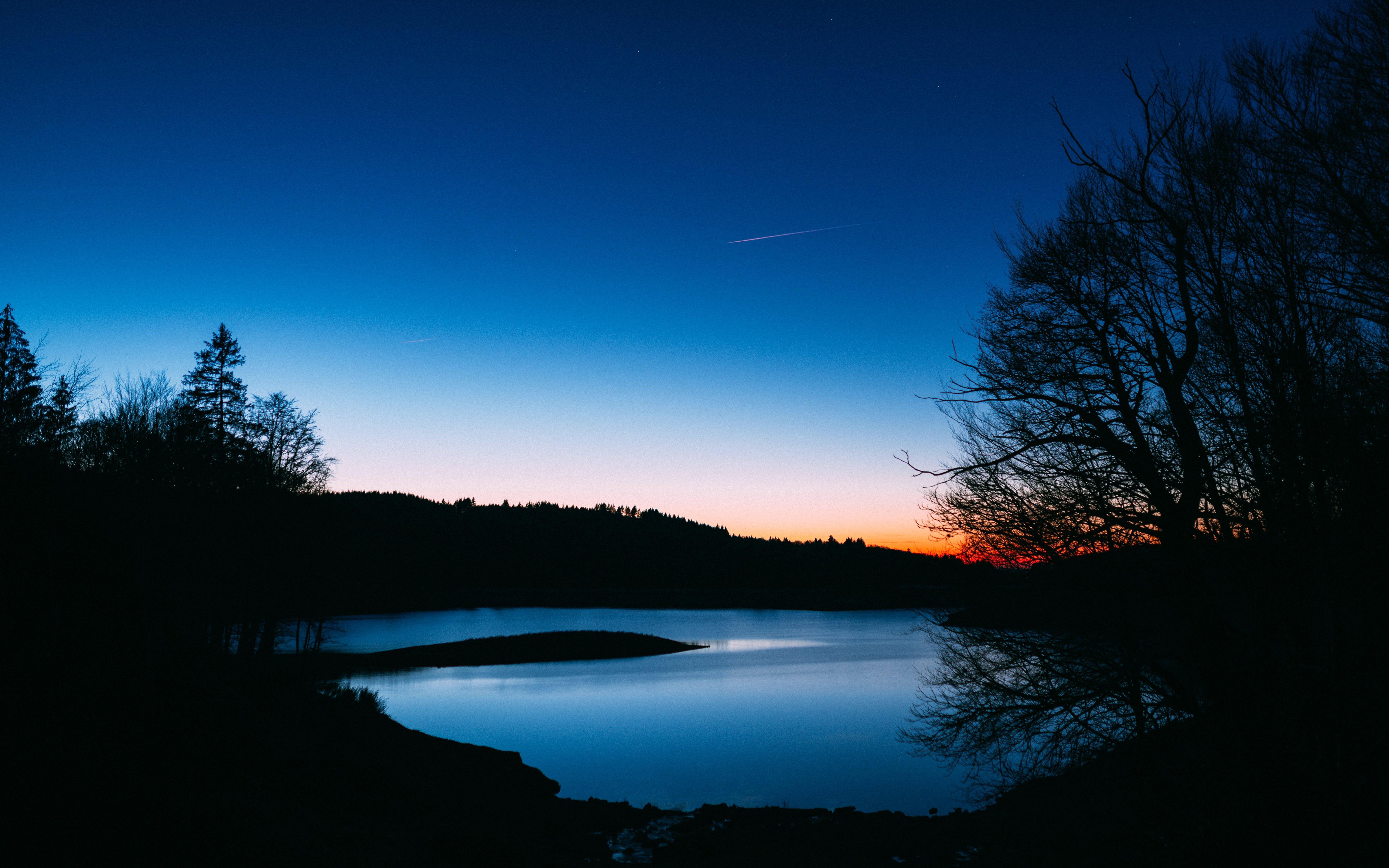 Gratis lagerfoto af aften, aftenhimmel, himmel, landskab