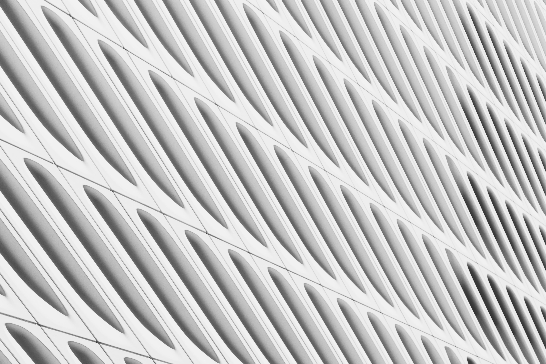 White and Gray Stripe Window Curtain