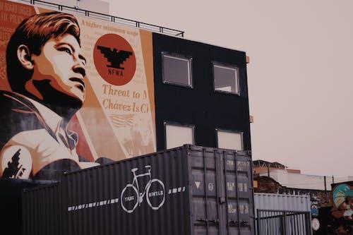 Бесплатное стоковое фото с архитектура, веселье, городской, граффити