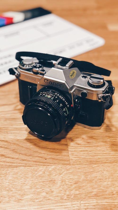 Gratis lagerfoto af årgang, Canon, kamera, retro
