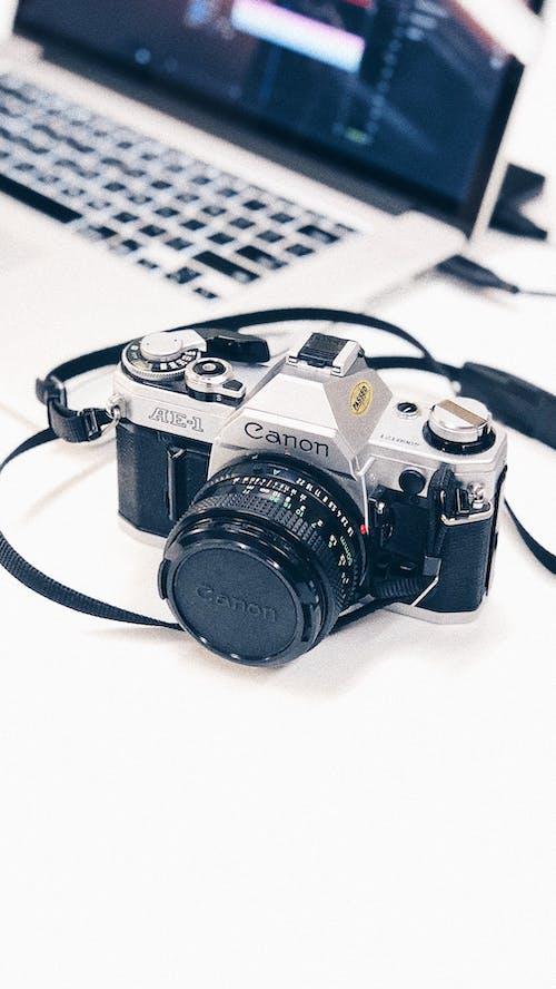 Free stock photo of 35mm, camera, clean, mac