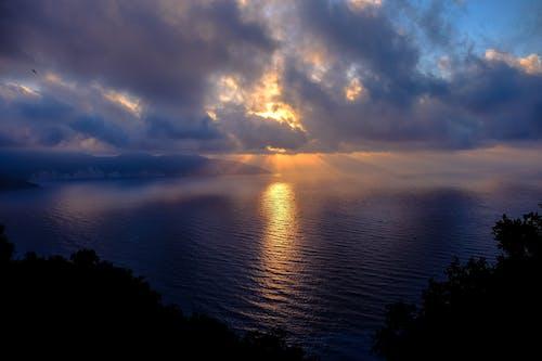 Gratis stockfoto met dageraad, h2o, hemel, kust