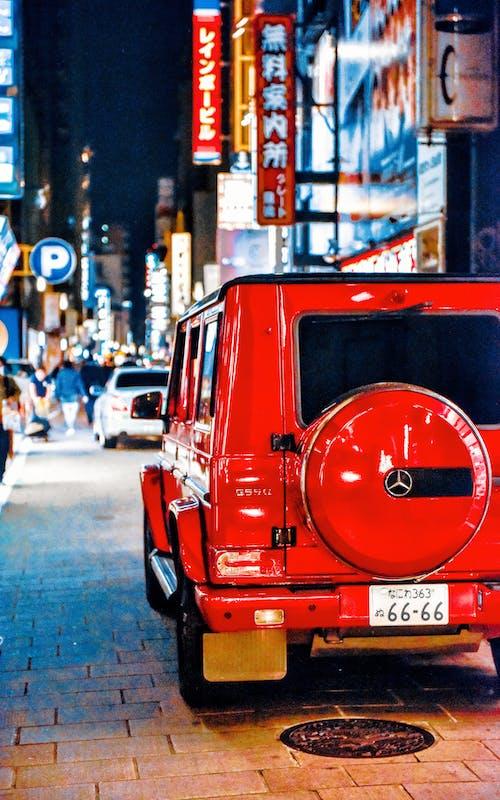 Foto d'estoc gratuïta de carrer, cotxe, Japó, jeep