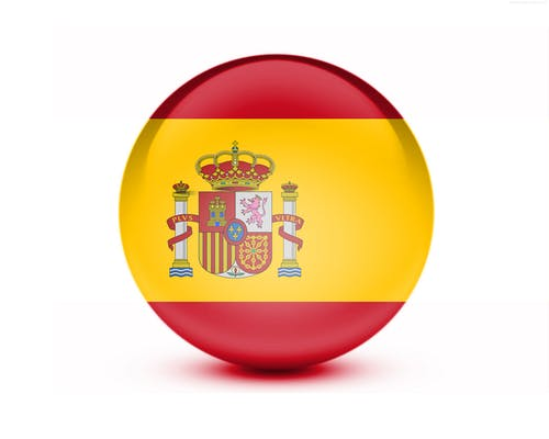 Free stock photo of 3D Flag, nationality, spain, spain flag