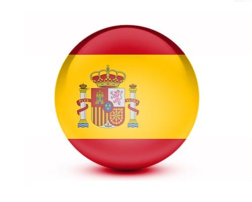 Kostnadsfri bild av 3d-flagga, nationalitet, spanien