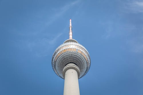 Low Angle Photography of Berlin TV Tower during Daytime