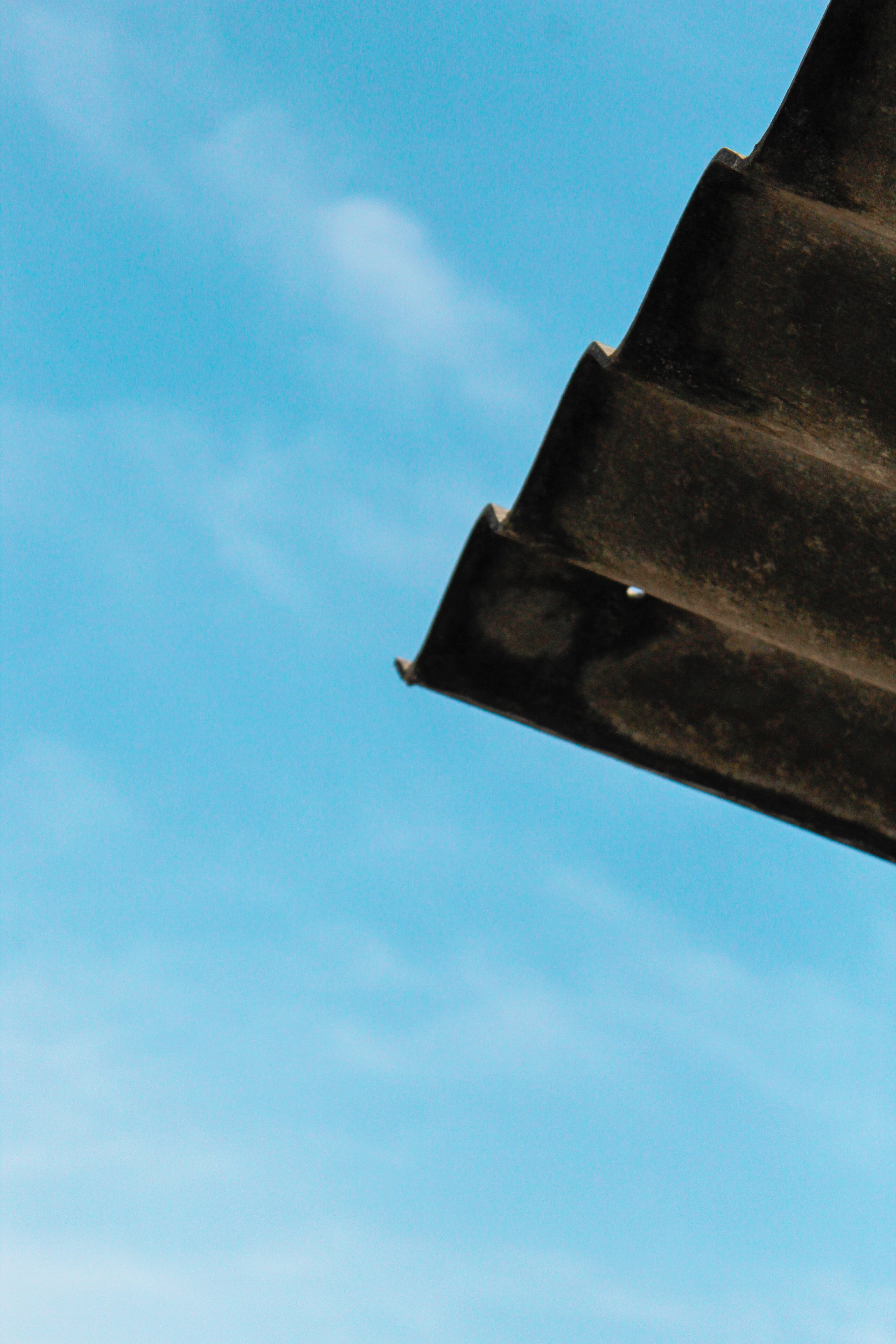 Free stock photo of blue sky, cowshed