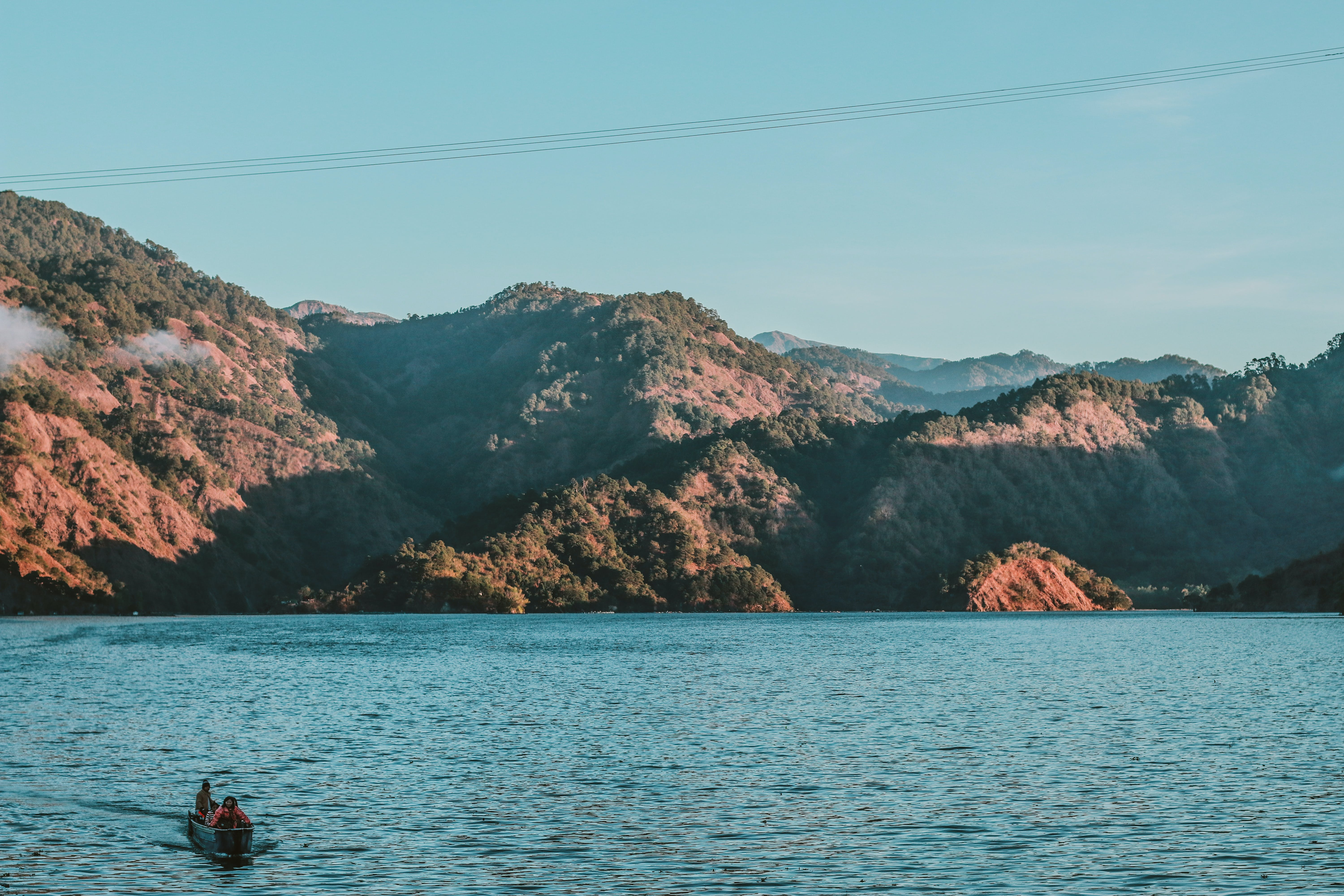 Free stock photo of boat, mount pulag, nature