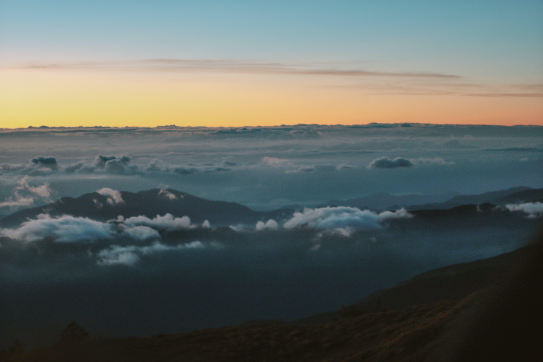 Kostenloses Stock Foto zu meer von wolken, natur, pulag montieren, sonnenaufgang