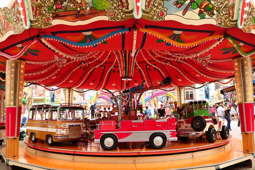 Free stock photo of carousel