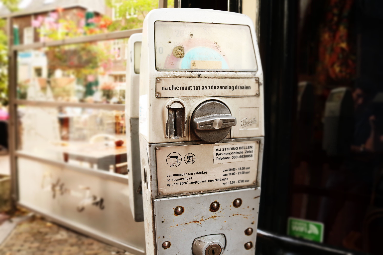 Free stock photo of parking meter