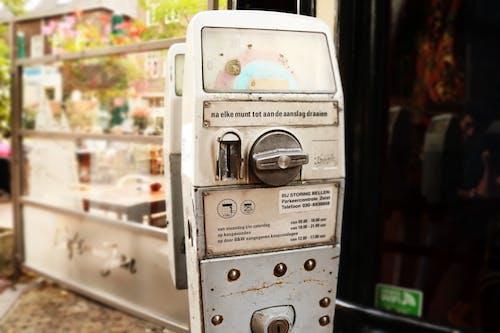 Základová fotografie zdarma na téma parkovací automat