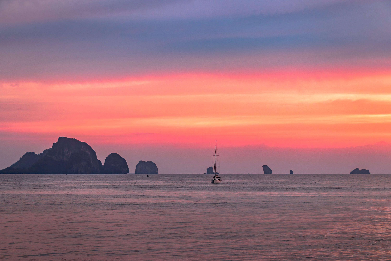 Free stock photo of beach, beautiful, boat, Krabi