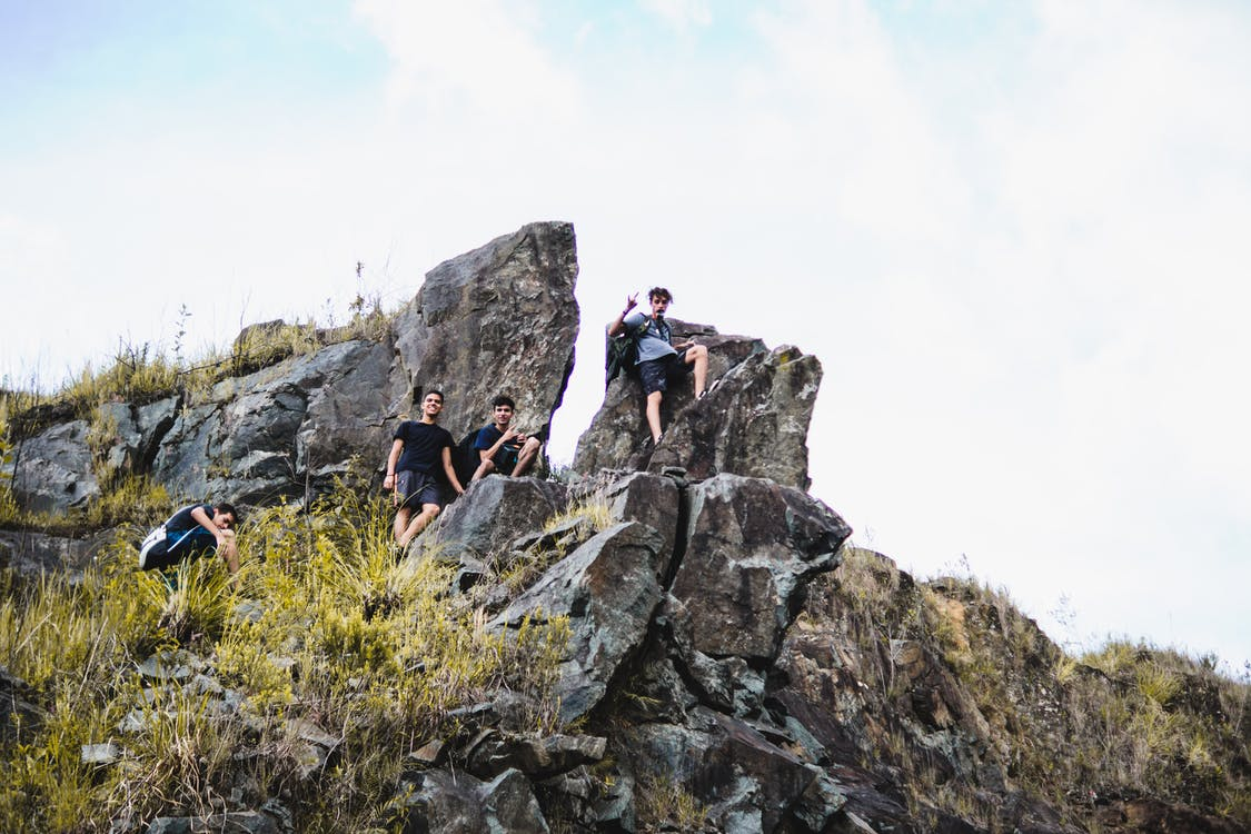 abenteuer, berg, challenge