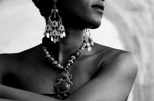 Person Wearing Jewellries