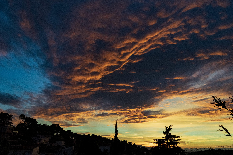 Free stock photo of cloud, sunset