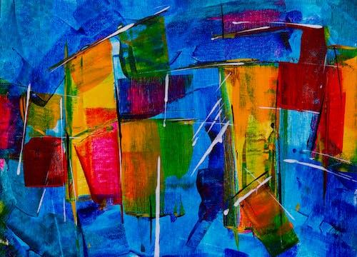 Безкоштовне стокове фото на тему «абстрактна картина, абстрактний експресіонізм, акрилова фарба, акриловий»