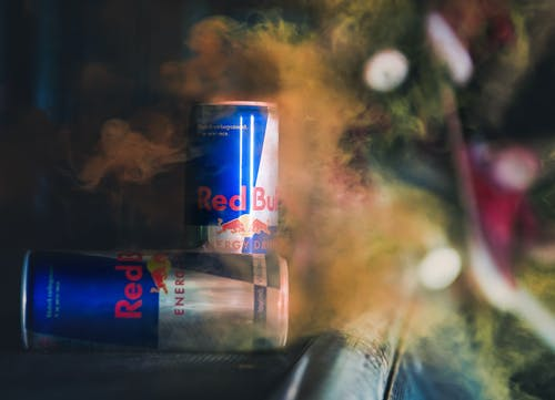 Free stock photo of energy drink, red bull, skate, skate park