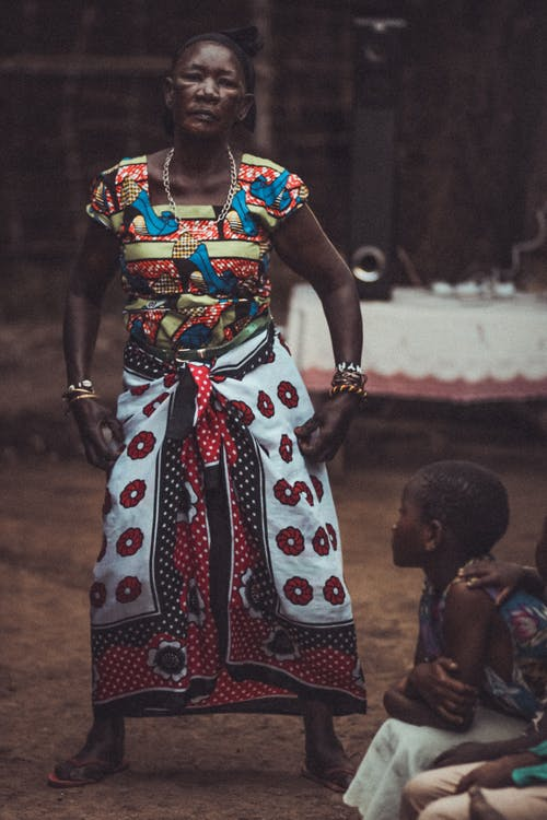 Free stock photo of african woman, dancing, festival
