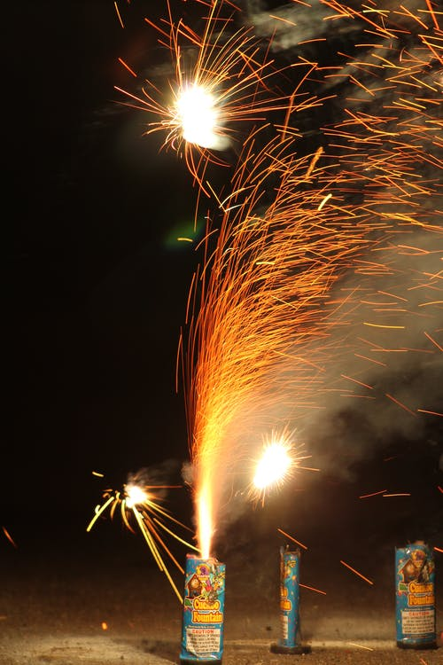 Free stock photo of fire, firework