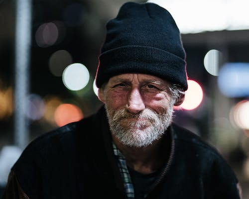 Free stock photo of homeless, night photograph, street photography, texas
