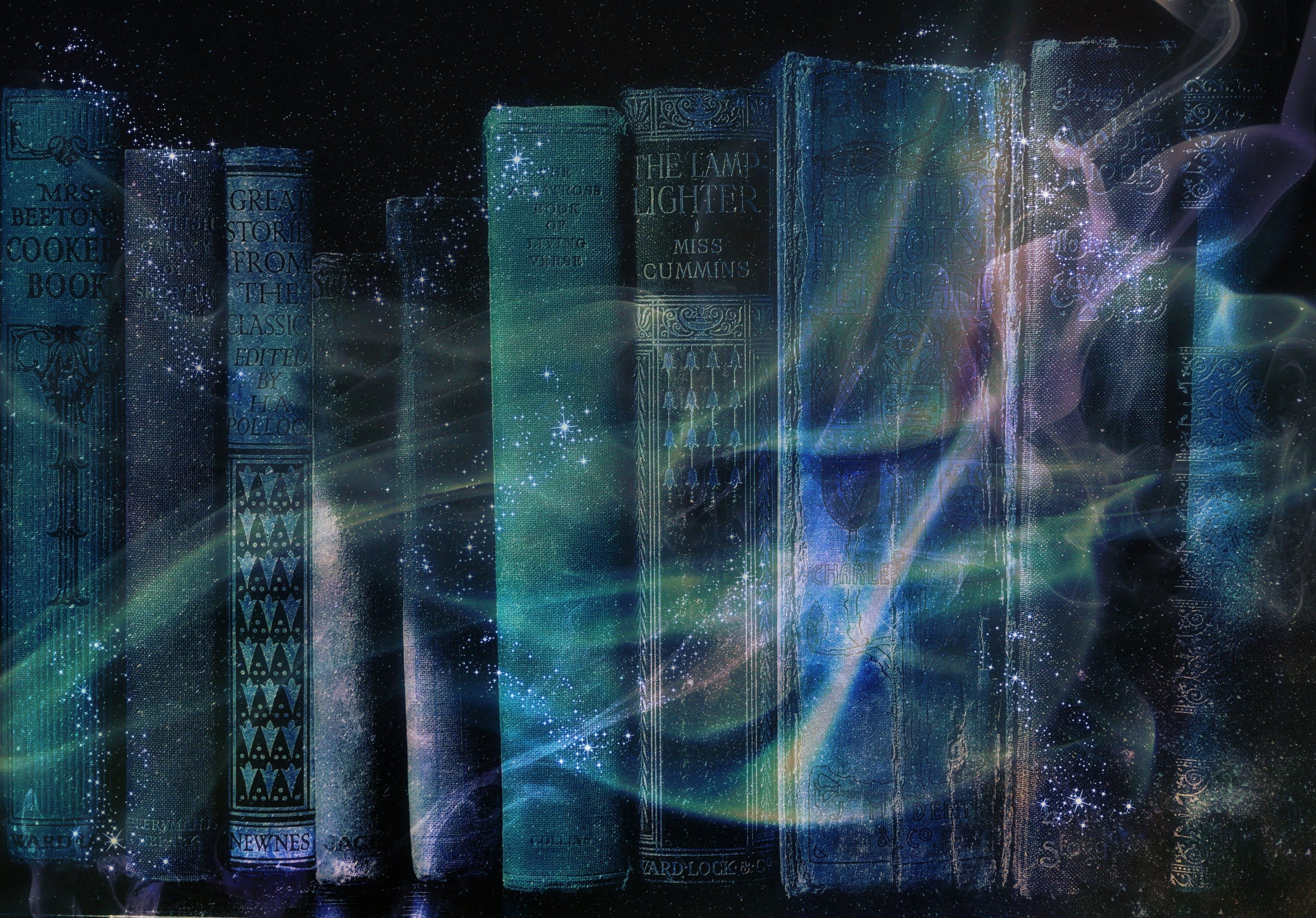 Free stock photo of books, bookshelf, literature, magic