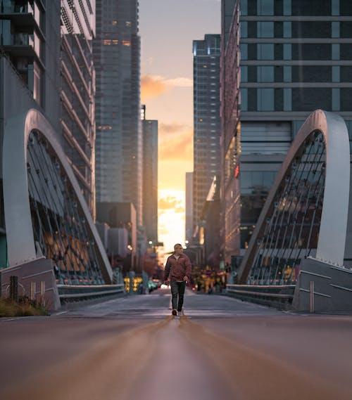 คลังภาพถ่ายฟรี ของ การเงิน, ชีวิตในเมือง, ตอนเย็น, ตะวันลับฟ้า