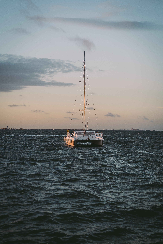båd, bølger, fritid