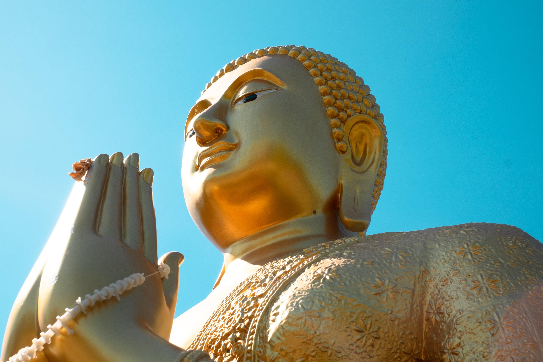Foto profissional grátis de bali, Buda, estátua, ouro