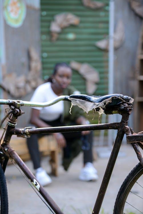 bicicleta, foto abstracta