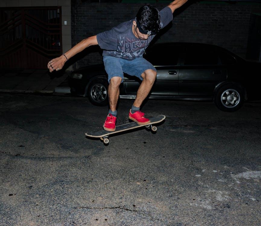 balanse, bil, bruke