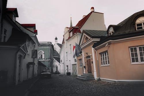 거리, 구시가지, 도시, 에스토니아의 무료 스톡 사진