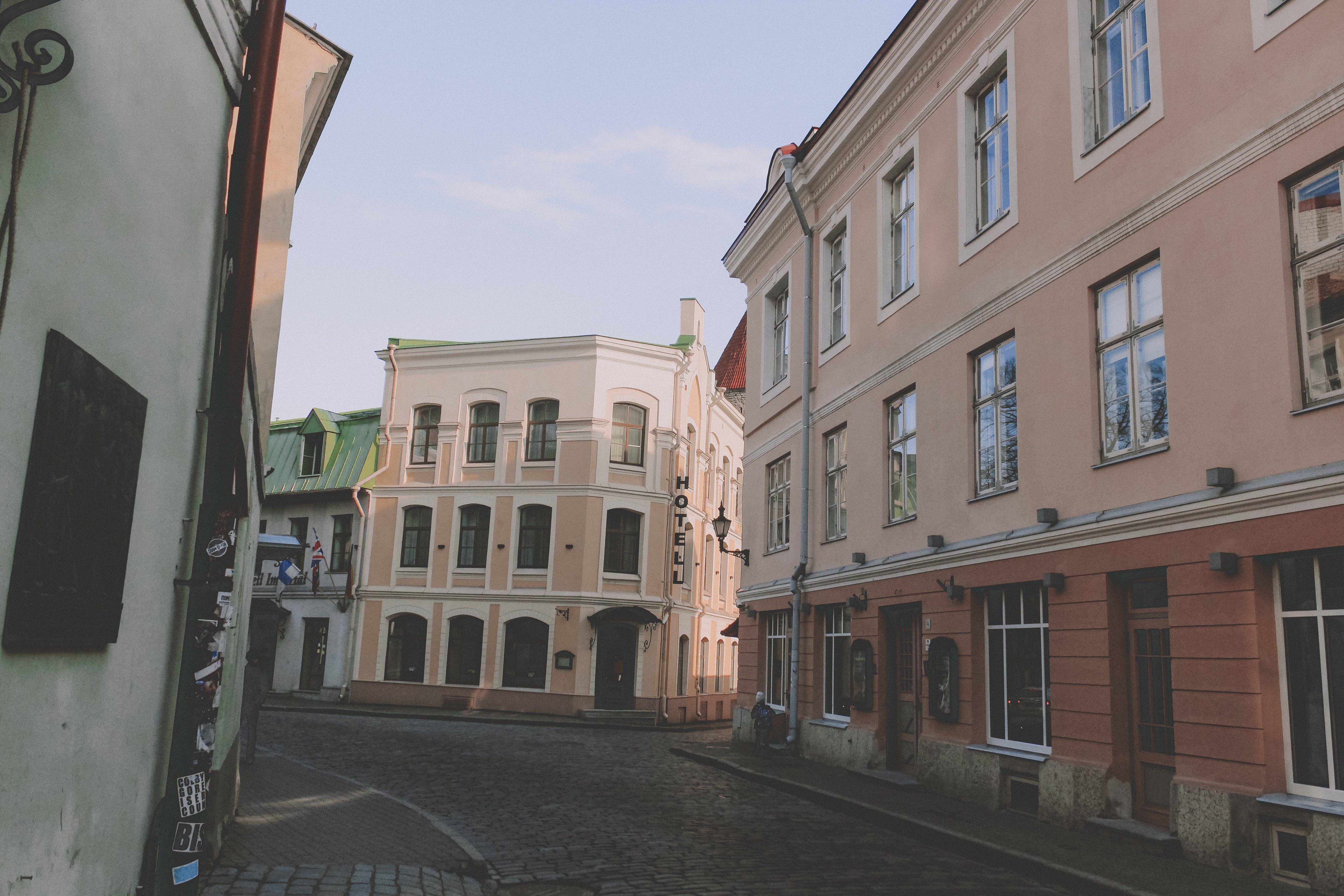 Free stock photo of buildings, estonia, street, tallinn