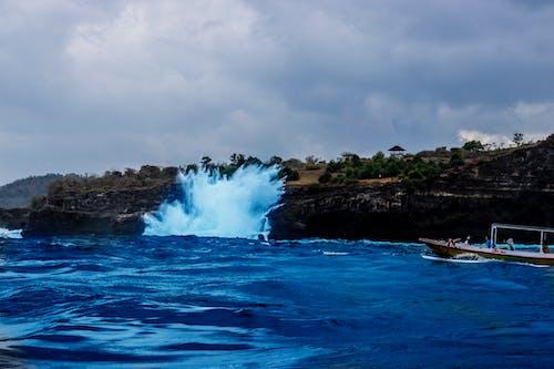 Základová fotografie zdarma na téma mávat, tříštění vln, tropy