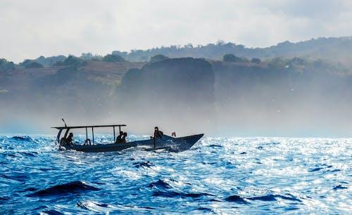 Základová fotografie zdarma na téma člun, mávat, tapeta