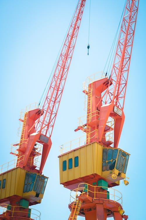 Orange Cranes