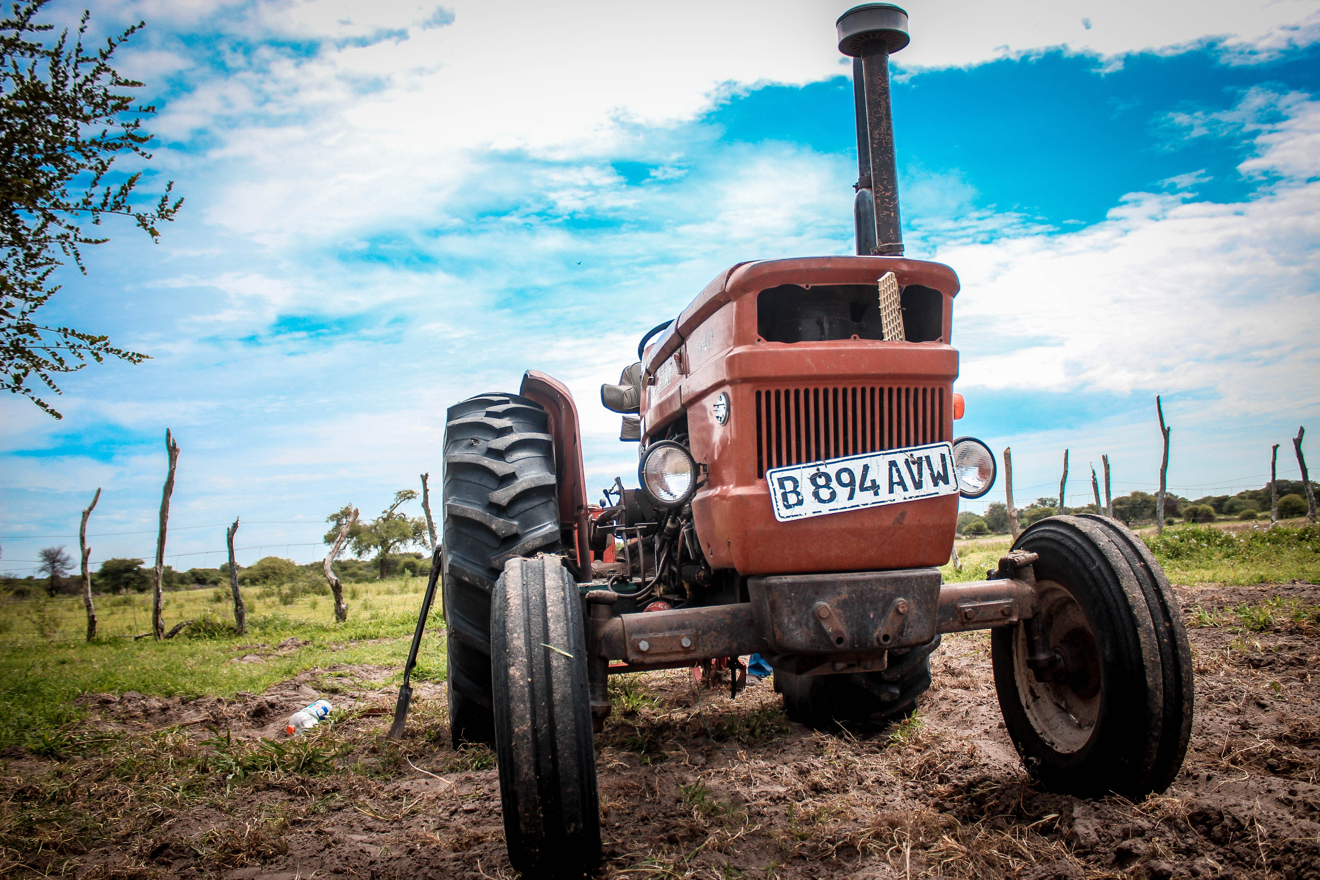 Free stock photo of tractor
