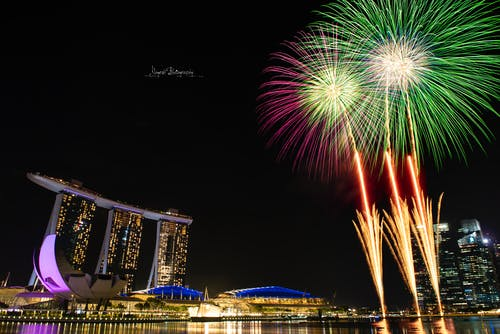 Free stock photo of fireworks 2019