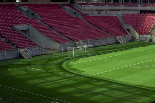 Free stock photo of empty, field, goal