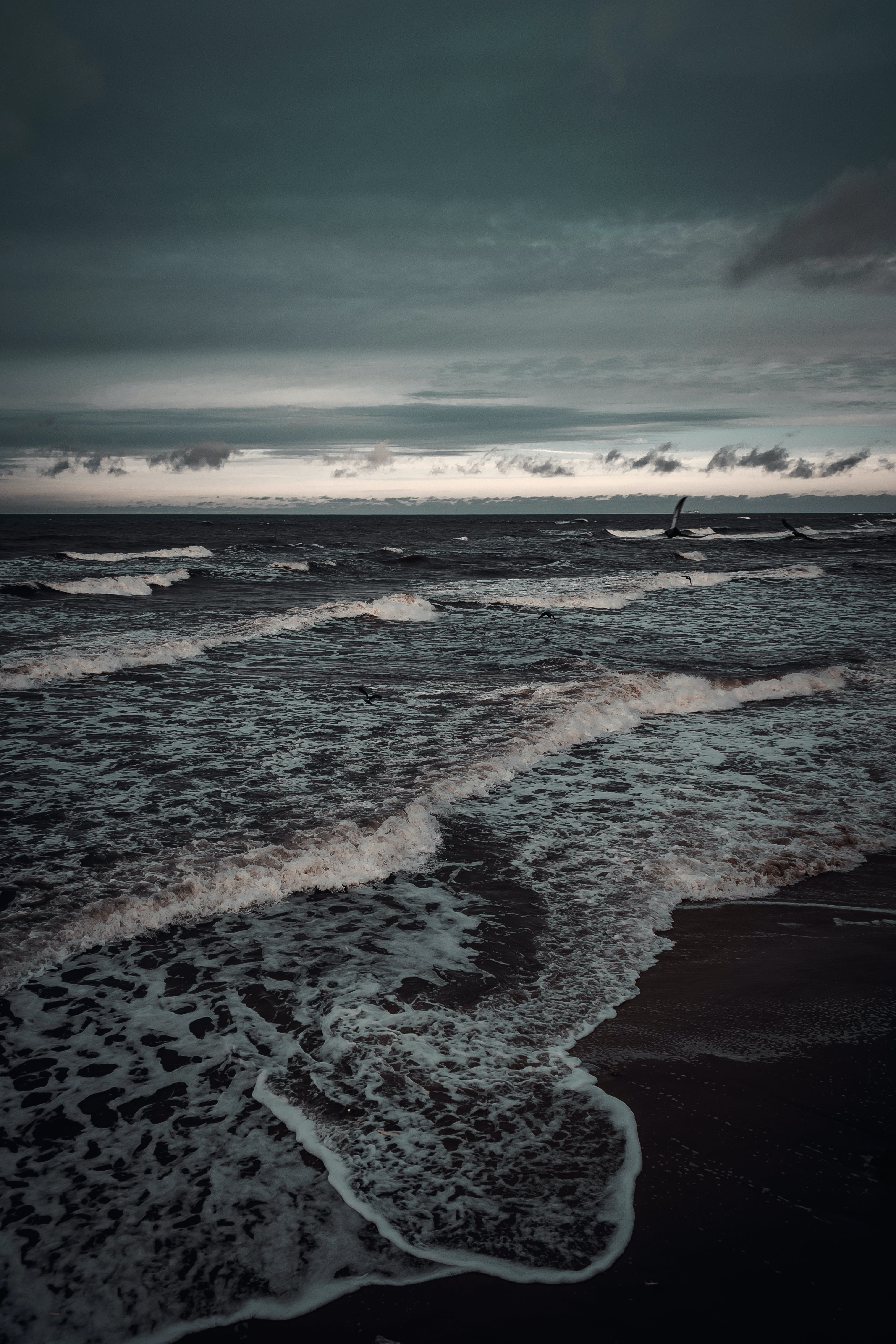 Kostenloses Stock Foto zu dämmerung, dunkel, himmel, horizont