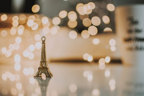 Mini Eiffel Tower Pendant