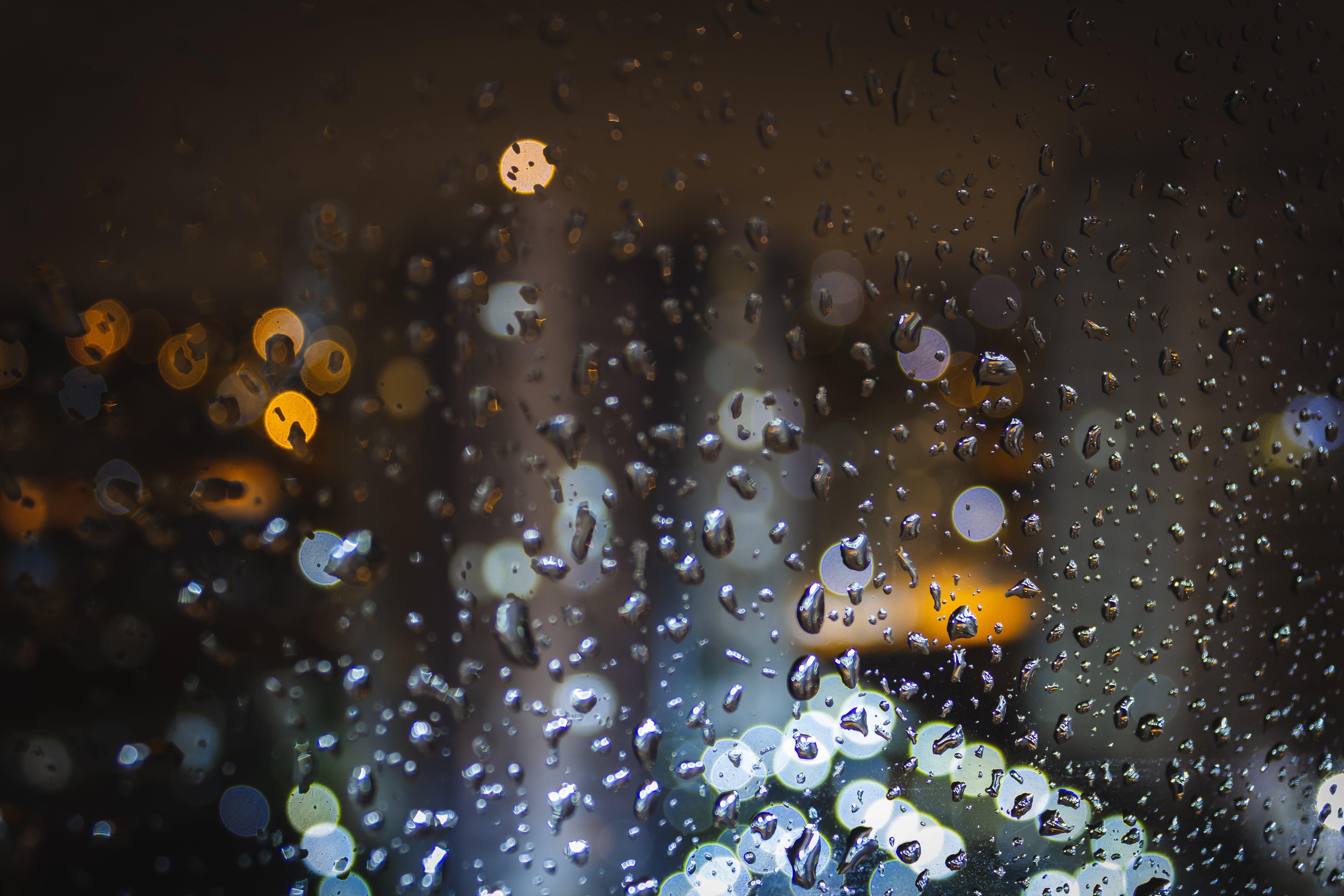 Gratis lagerfoto af by, regn, vindue